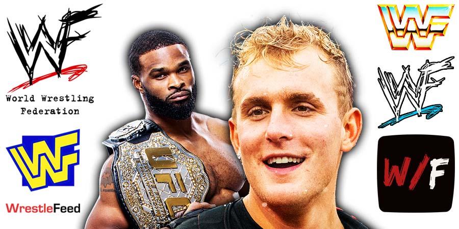 Jake Paul defeats Tyron Woodley via Split Decision WrestleFeed App