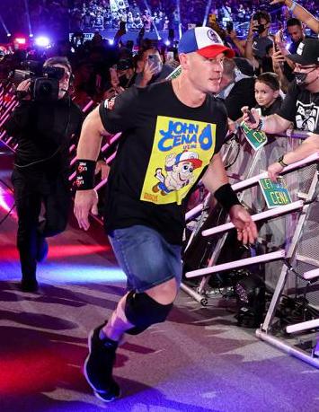 John Cena New T-Shirt WWE SummerSlam 2021