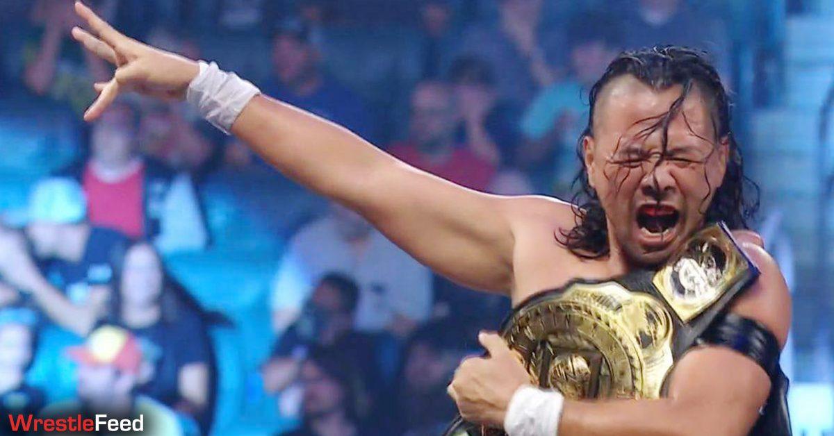 King Shinsuke Nakamura wins the Intercontinental Championship on WWE SmackDown August 2021 WrestleFeed App