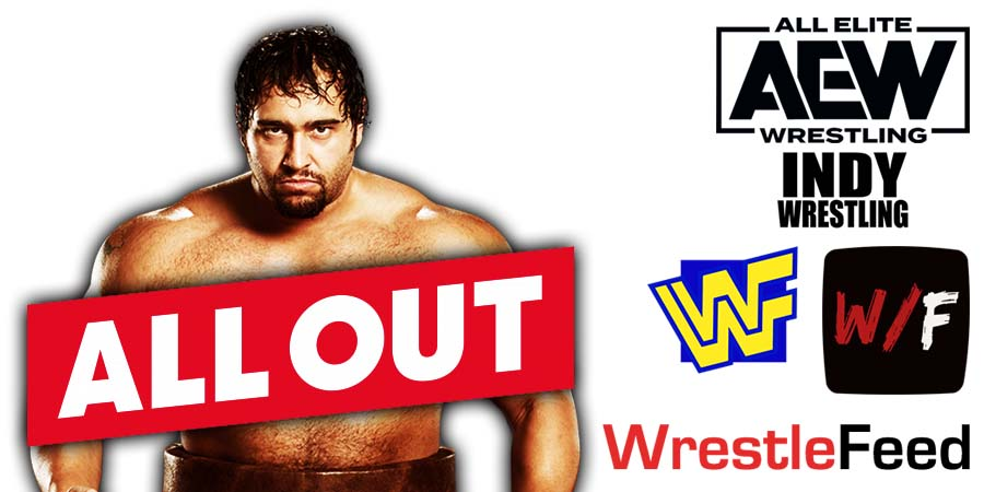 Miro AEW All Out 2021 WrestleFeed App