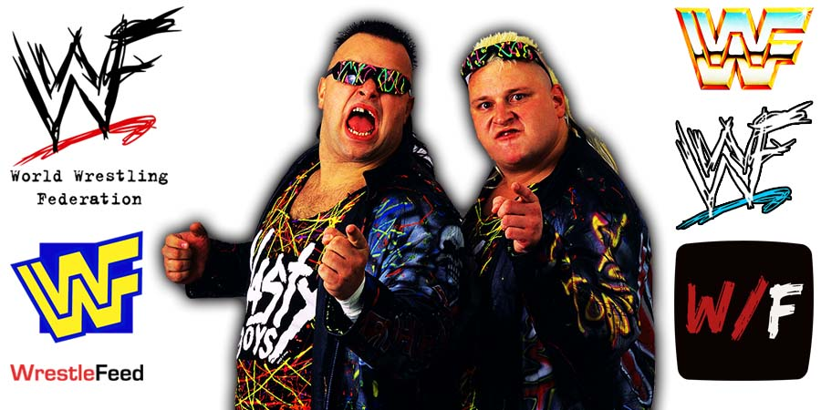 Nasty Boys - Brian Knobbs & Jerry Sags Saggs Article Pic 2 WrestleFeed App
