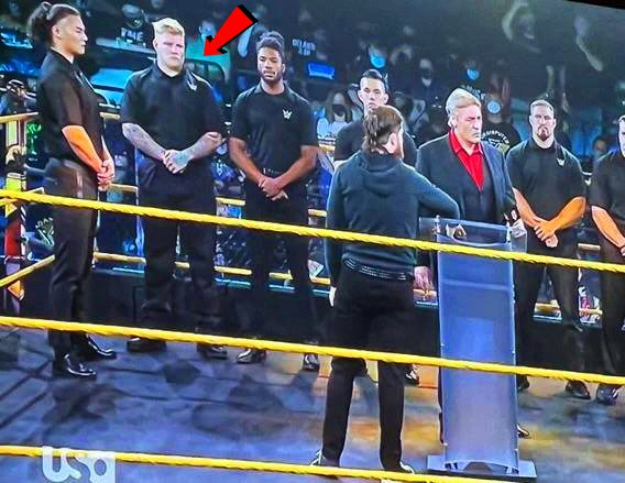Parker Boudreaux makes his 1st appearance on WWE NXT TV