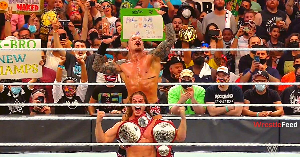 RK-BRO Randy Orton Riddle Win RAW Tag Team Championship WWE SummerSlam 2021 WrestleFeed App