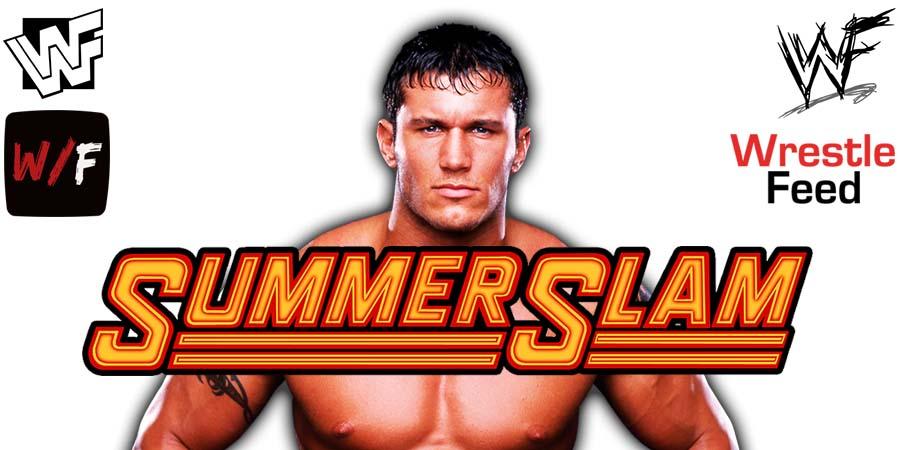 Randy Orton SummerSlam 2021 WrestleFeed App