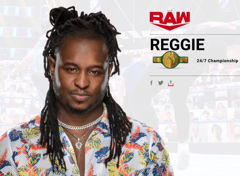 Reginald Reggie Name Change