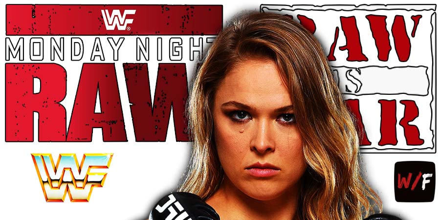 Ronda Rousey RAW Article Pic 1 WrestleFeed App