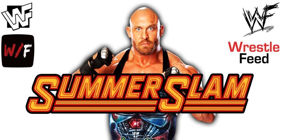 Ryback SummerSlam 2021 WrestleFeed App