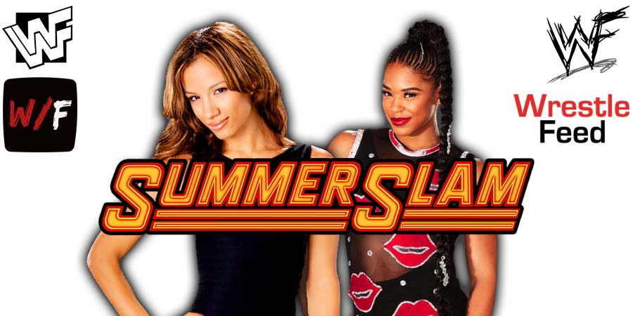 Sasha Banks Bianca Belair SummerSlam 2021 WrestleFeed App