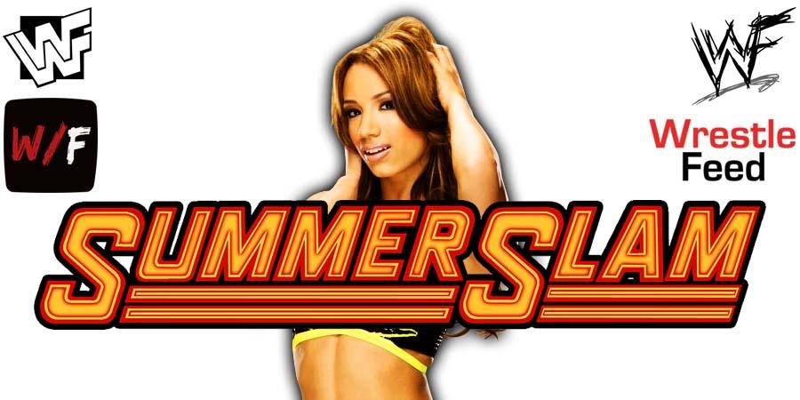 Sasha Banks SummerSlam 2021 WrestleFeed App