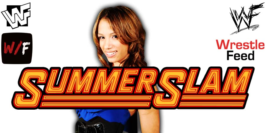 Sasha Banks WWE SummerSlam 2021 WrestleFeed App