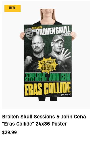 Steve Austin John Cena Broken Skull Sessions Eras Collide