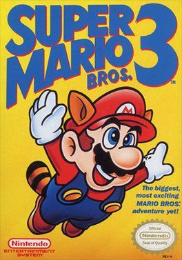 Super Mario Bros. 3 Cover Art