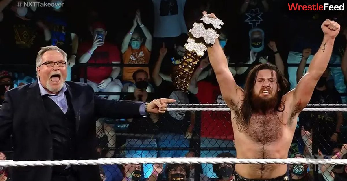 Ted DiBiase Cameron Grimes Million Dollar Champion NXT TakeOver 36 WrestleFeed App