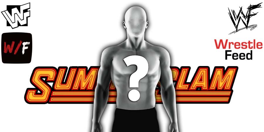 Vacant Mystery WWE SummerSlam WrestleFeed App