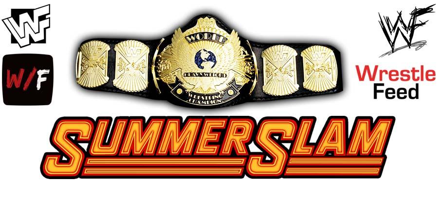 WWE Championship Title Match SummerSlam WrestleFeed App