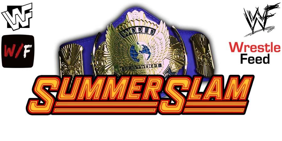WWE Universal Championship Title Match SummerSlam WrestleFeed App