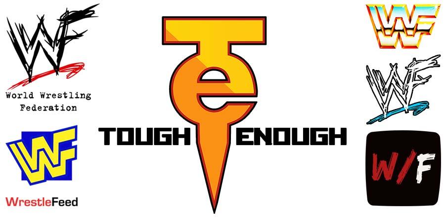 WWF WWE Tough Enough Logo WrestleFeed App