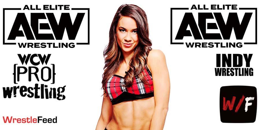 AJ Lee AEW Article Pic 2 WrestleFeed App