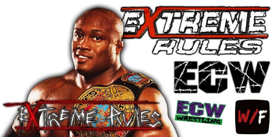 Bobby Lashley WWE Extreme Rules 2021 WrestleFeed App