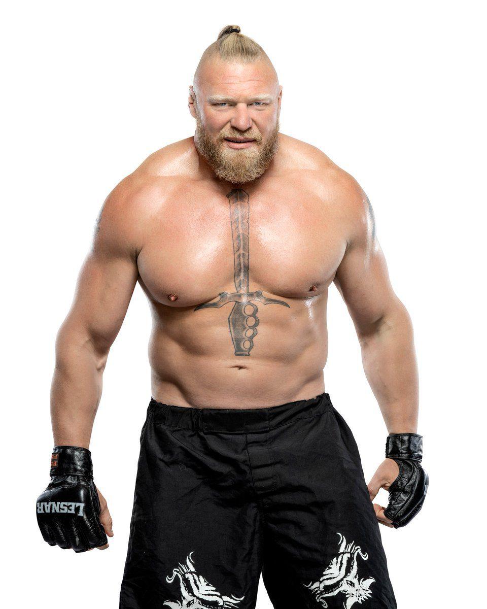 Brock Lesnar New Hairstyle Render September 2021