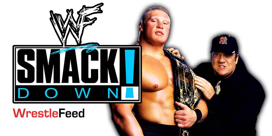 Brock Lesnar SmackDown Article Pic 6 WrestleFeed App
