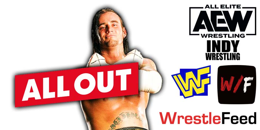 CM Punk All Out 2021 PPV WrestleFeed App