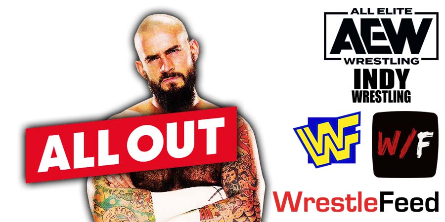 CM Punk All Out Win WrestleFeed App