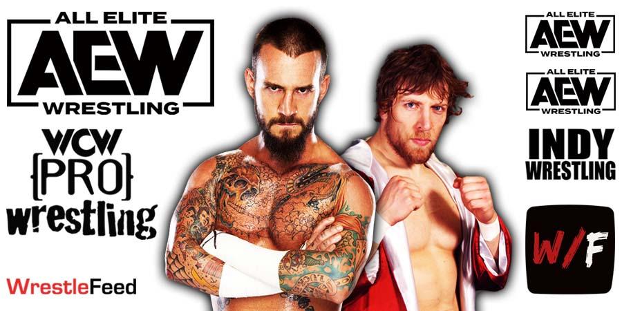 CM Punk Daniel Bryan AEW Article Pic 6 WrestleFeed App