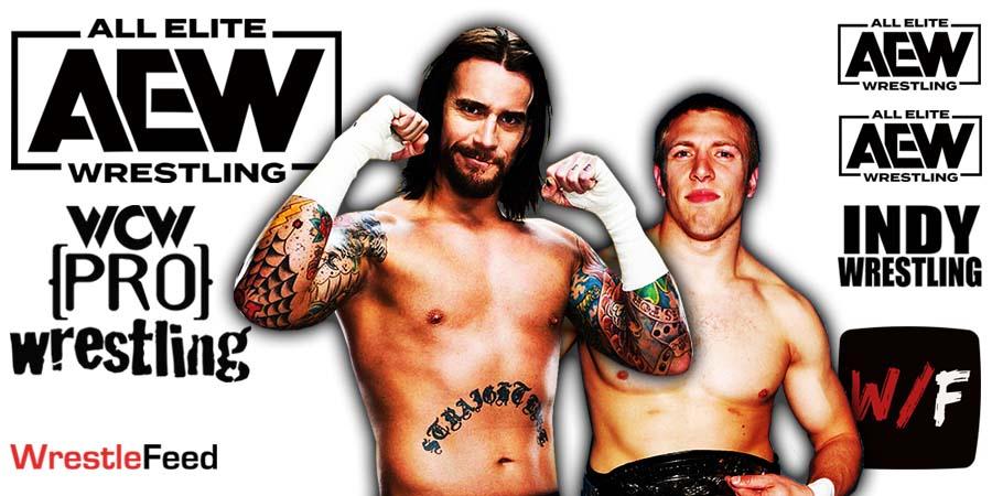 CM Punk Daniel Bryan AEW Article Pic 7 WrestleFeed App