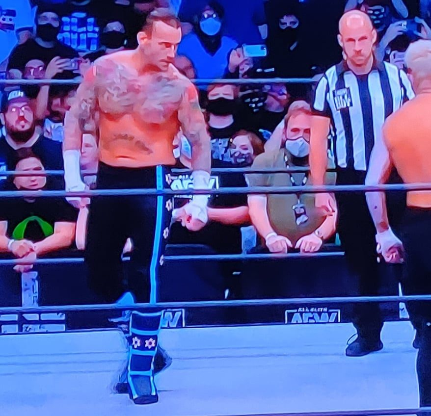 CM Punk New Ring Gear AEW All Out 2021