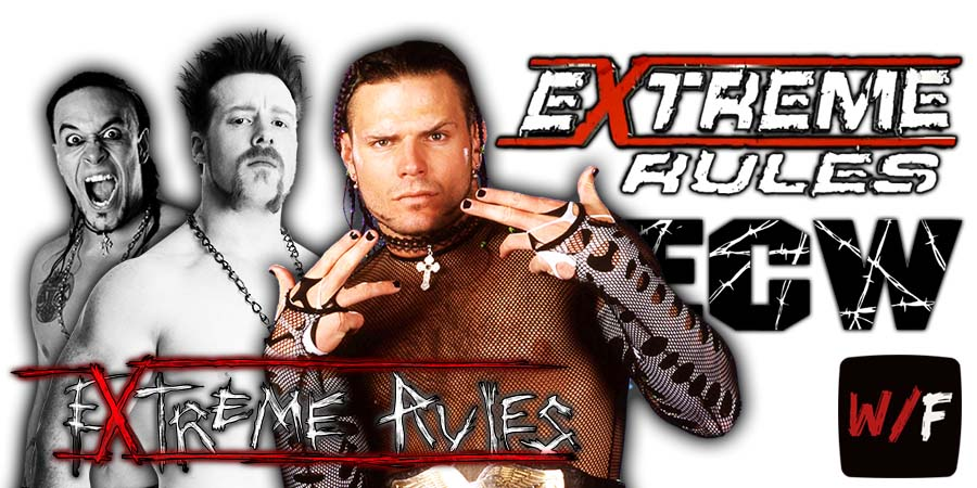 Damian Priest beats Sheamus and Jeff Hardy at WWE Extreme Rules 2021 WrestleFeed App