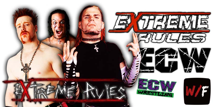Damian Priest defeats Sheamus and Jeff Hardy at WWE Extreme Rules 2021 WrestleFeed App