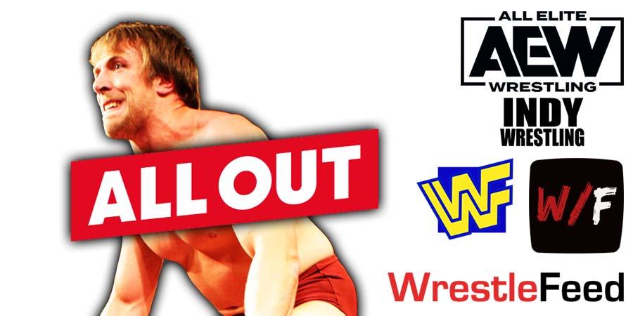 Daniel Bryan - Bryan Danielson AEW All Out 2021 PPV Debut WrestleFeed App