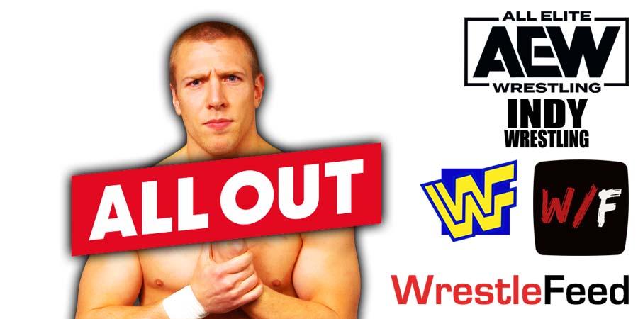 Daniel Bryan - Bryan Danielson AEW All Out 2021 PPV WrestleFeed App