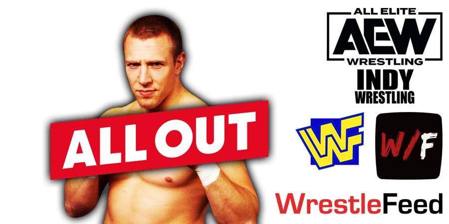 Daniel Bryan Danielson AEW All Out 2021 WrestleFeed App