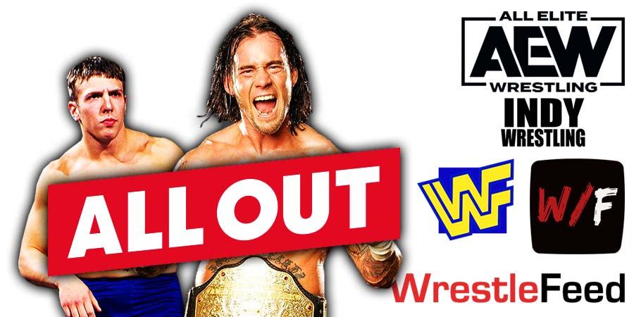 Daniel Bryan Danielson CM Punk AEW All Out 2021 PPV WrestleFeed App