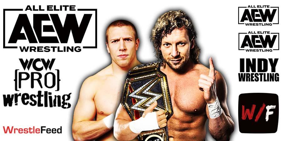 Daniel Bryan Danielson vs Kenny Omega AEW Dynamite Grand Slam WrestleFeed App