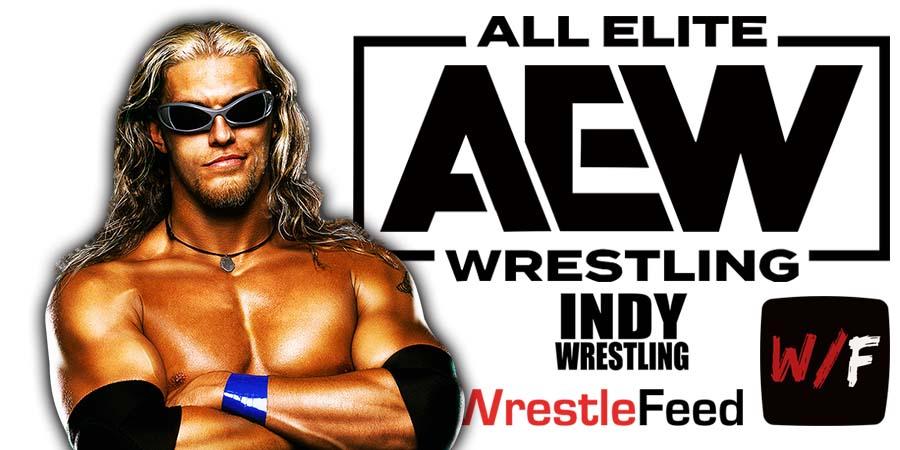 Edge AEW All Elite Wrestling Article Pic 2 WrestleFeed App