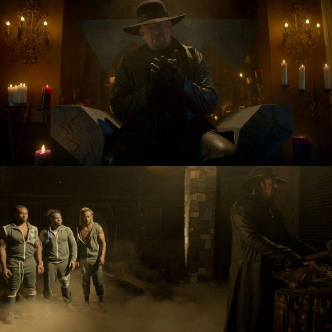 Escape The Undertaker The New Day Kofi Kingston Big E Xavier Woods Netflix Interactive