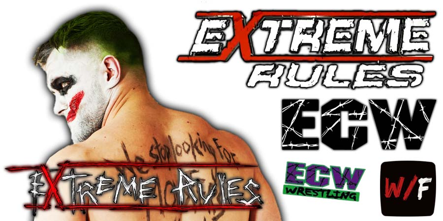 Finn Balor Demon King Extreme Rules 2021 WrestleFeed App