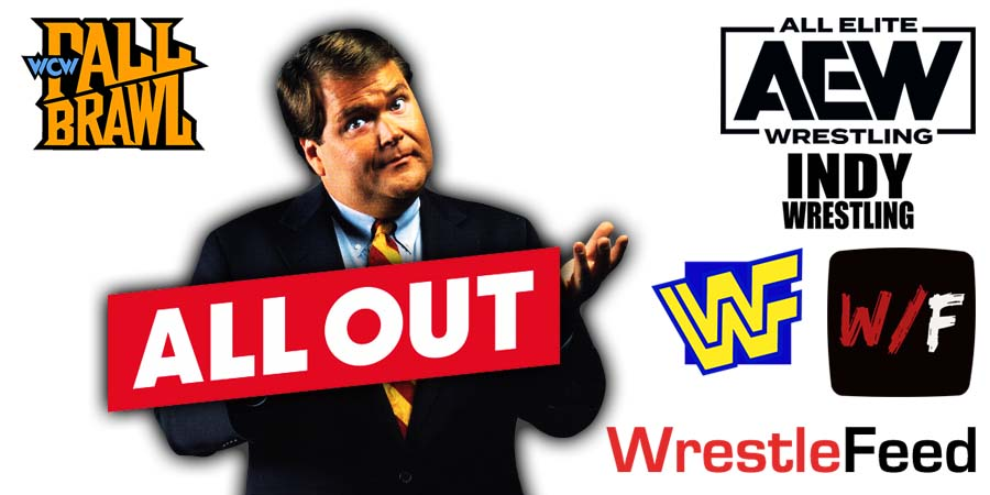 Jim Ross All Out 2021 WrestleFeed App