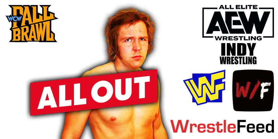 Jon Moxley All Out 2021 WrestleFeed App