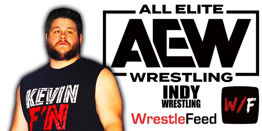 Kevin Owens AEW Article Pic 1 WrestleFeed App