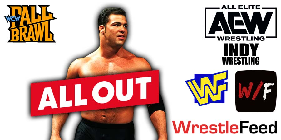 Kurt Angle AEW All Out WrestleFeed App