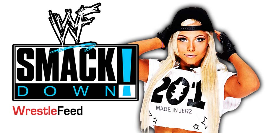 Liv Morgan SmackDown Article Pic 1 WrestleFeed App