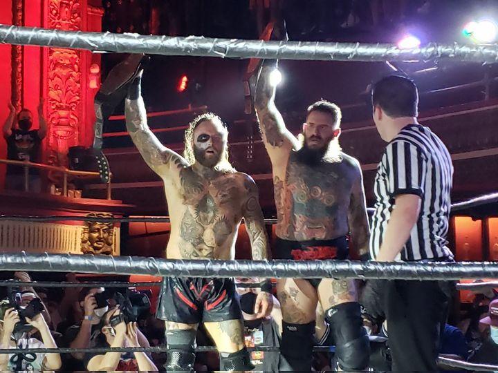 Malakai Black Brody King PWG World Tag Team Champions