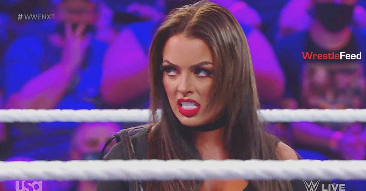 Mandy Rose New Hair Color WWE NXT 2 September 2021 WrestleFeed App