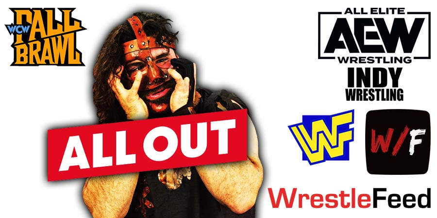 Mick Foley All Out WrestleFeed App