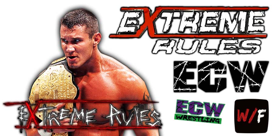 Randy Orton Extreme Rules 2021 WrestleFeed App