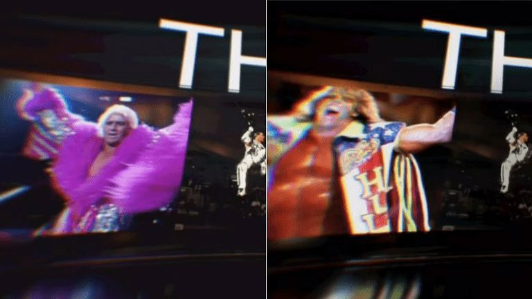 Ric Flair Replaced By The Ultimate Warrior In WWE's TV Intro